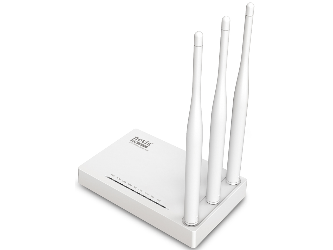 NETİS MW5230 300MBPS WİRELESS N 3G/4G ROUTER, 3*5dBi EXTERNAL FİXED ANTENNAS, USB2.0