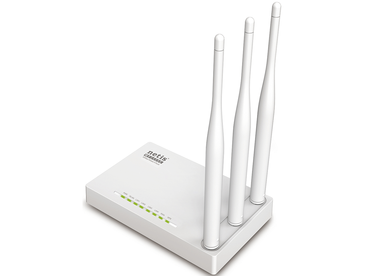 NETİS WF2409E 300MBPS WİRELESS N ROUTER, 3*5dBi EXTERNAL FİXED ANTENNAS, IPTV FUNCTİON AND FULL DUAL ACCESS SUPPORT
