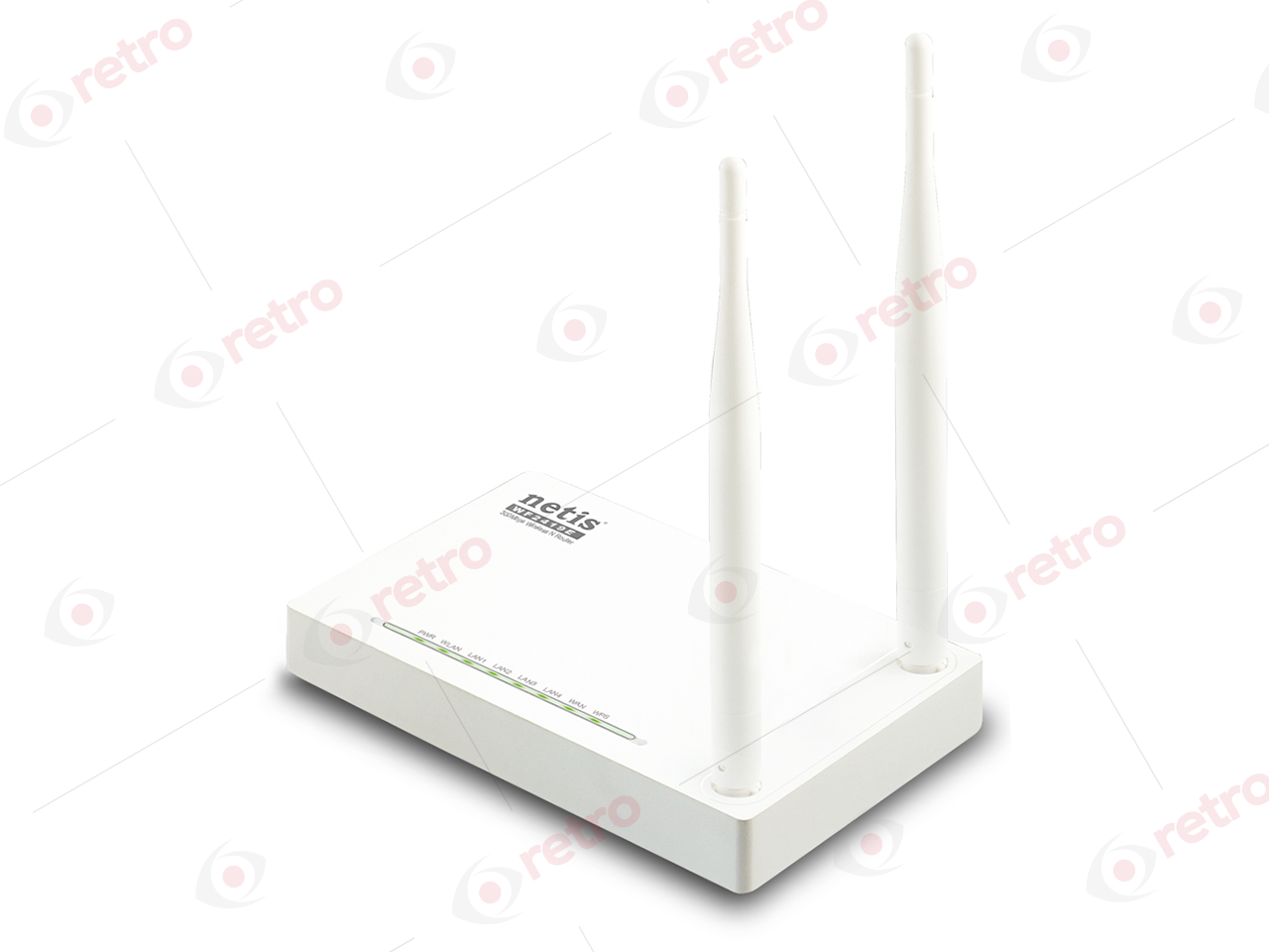NETİS WF2419E 300MBPS WİRELESS N ROUTER, 2*5dBi EXTERNAL FİXED ANTENNAS, IPTV FUNCTİON AND FULL DUAL ACCESS SUPPORT